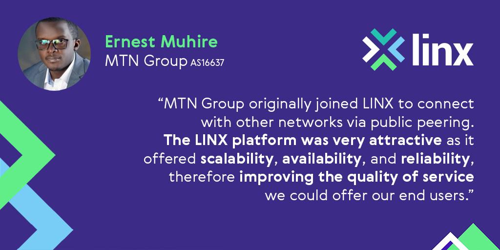 LINX-testimonial-ErnestMuhire-MTNGroup-1